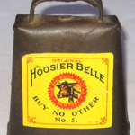 A Hoosier Belle; Marked with a Yellow Label