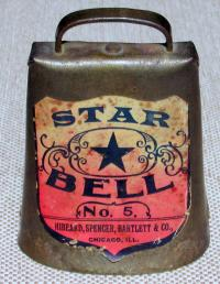 The Star Label was Used by a Large Hardware Firm in Chicago -- Hibbard, Spencer, Bartlett & Co.