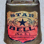 A Star Bell; Marked with a White and Red Label
