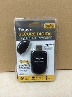 Secure digital card reader writer